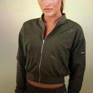 LE Gymshark Nikki Blacketter bomber jacket size xs